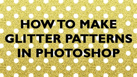 photoshop font pattern overlay how to make glitter patterns in photoshop plus a free