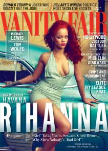 Vanity Fair Magazine Publisher Rihanna Vanity Fair Magazine November 2015