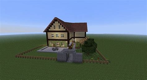 My own House in Minecraft Style Minecraft Project