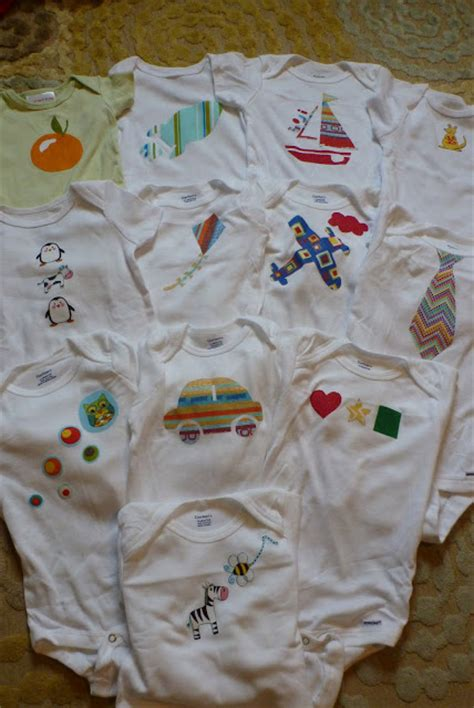 Handmade Onesies - handmade diy decorated onesies
