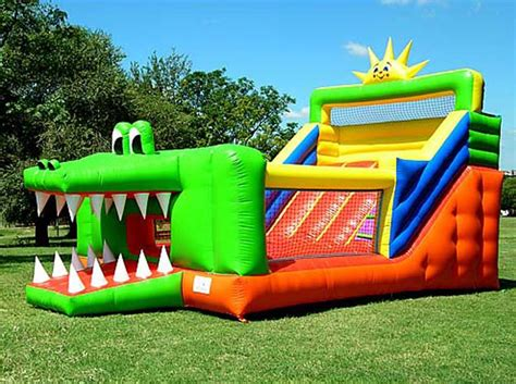 bounce house party rental miami combo units combo slide