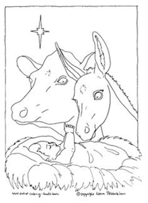 coloring pages nativity animals beautiful goat coloring pages for to color and print