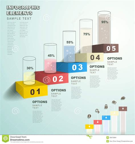 Excel Room Layout Template abstract bar chart infographics stock vector image 35970984