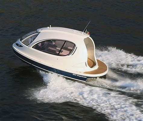 jet boat yacht futuristic capsule yachts jet capsule