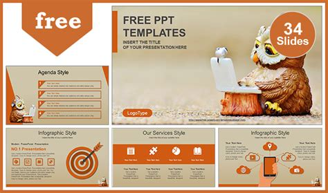 Computer Education Ppt Templates Free Computer Education Concept Powerpoint Template
