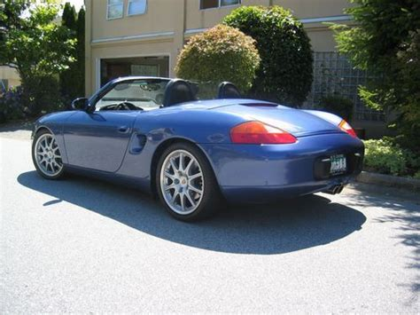 porsche boxster for sale bc find used 1998 porsche boxster in vancouver bc canada