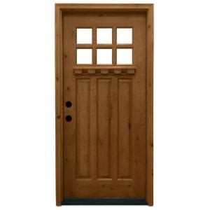 Home Depot Craftsman Door by Steves Sons 36 In X 80 In Craftsman 6 Lite Stained