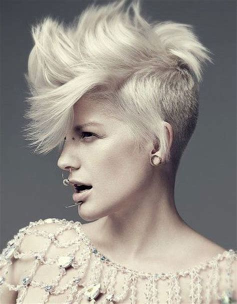 short sides long top hairstyles women 52 of the best shaved side hairstyles