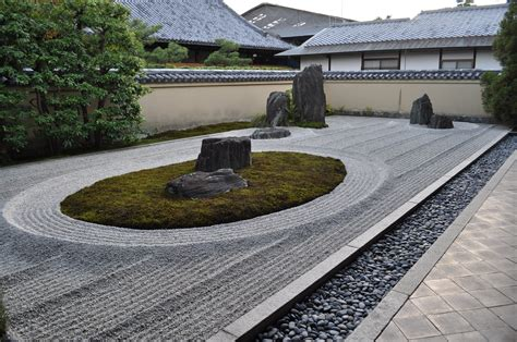 japanese rock garden pictures japanese rock garden 枯山水 karesansui