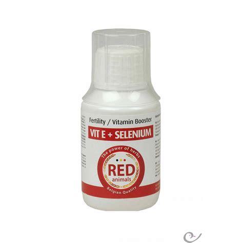 Vit E Vitamin E 15 Ml vit e selenium 100 ml rood dieren