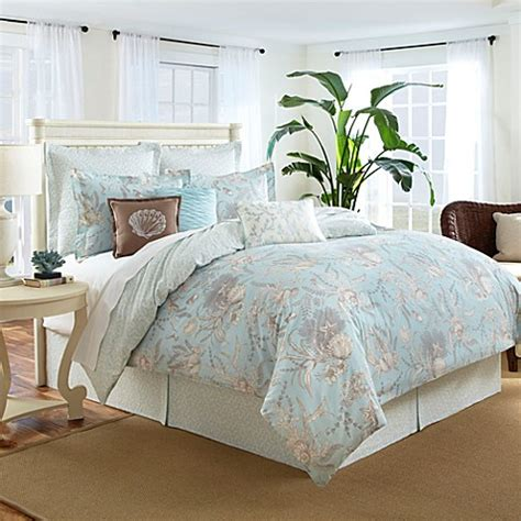sea cottage 3 4 piece comforter set bed bath beyond