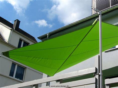 Sonnensegel Auf Balkon Befestigen 955 by Sonnensegel F 252 R Den Balkon In Premium Qualit 228 T Pina Design 174