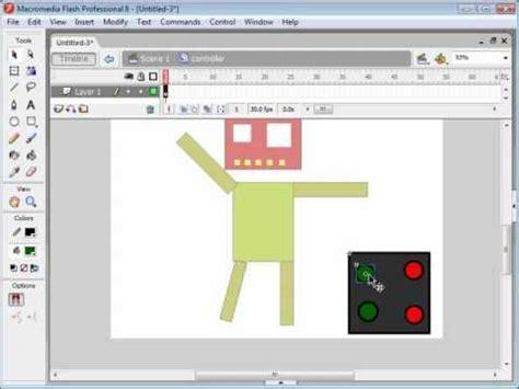 flash tutorial volume control flash animation tutorial robot part 2 actionscript