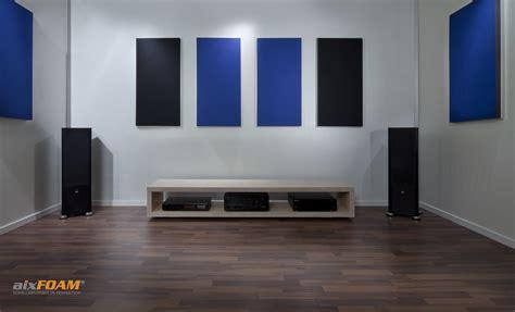 perfekte akustik im heimkino aixfoam 174 schallabsorber
