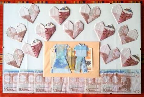 Money Origami Wedding - money origami shirt folding