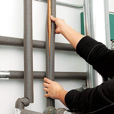 frozen hot water pipe in wall read this before you finish your basement water pipes