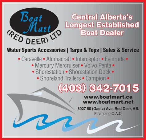 boat sales red deer boat mart red deer ltd 8027 50 ave red deer ab