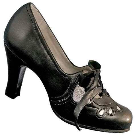 aris allen swing dance shoes aris allen black silver 1930s heeled oxford swing shoes
