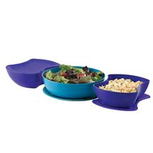 Tupperware Domino Set dinnerware serving dishes tupperware special edition