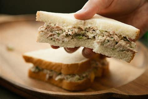 Tuna Blackpepper King Sandwich grown up tuna salad recipe chow