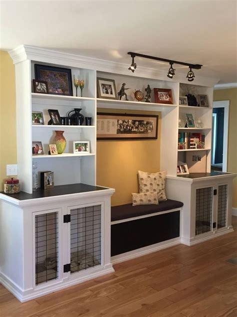genius diy dog kennel ideas   bookshelves built