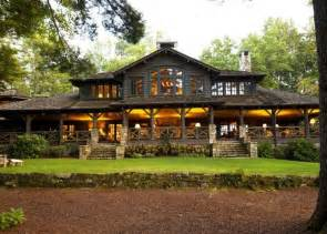 adirondack lakefront homes for n c lake house combines southern charm adirondack style
