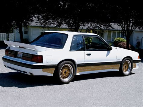 saleen notchback notchback with gt ground effects ford mustang forums