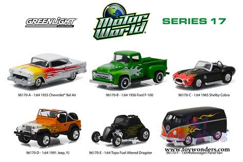 Greenlight Motor World Csite motor world diecast car series 17 96170 48 1 6 scale greenlight wholesale diecast model car