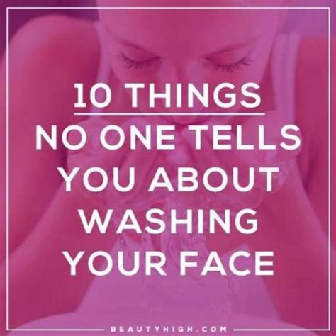 10 things no one ever tells you about haircuts 10 things no one ever tells you about washing your face
