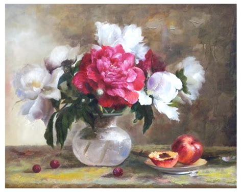 quadri con vasi di fiori quadro 50x60 vaso fiori bianchi fucsia w 306 idea luce di