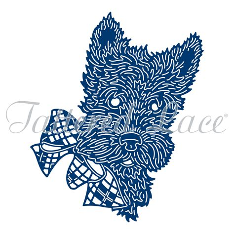 scotty dog etl464 tattered lace