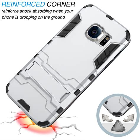 Samsung Galaxy J5 2016 Rugged Shock Proof Armor Hybrid Soft armor shockproof rugged hybrid rubber back cover for samsung galaxy j5 2016