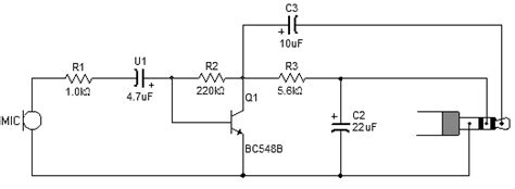 transistor microphone lifier circuit how can i increase the gain of this transistor lifier is it working at all page 1