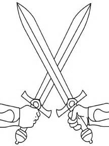 sword coloring pages swords coloring page