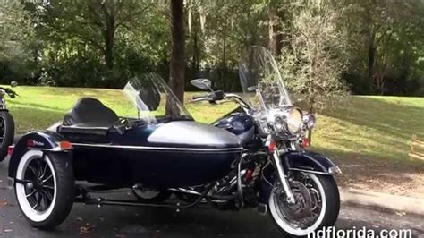 Harley Davidson Sidecar For Sale by Used 2002 Harley Davidson Road King With Sidecar