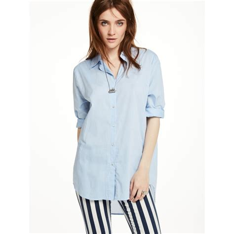 Boyfriend Shirts Boyfriend Shirt Light Blue