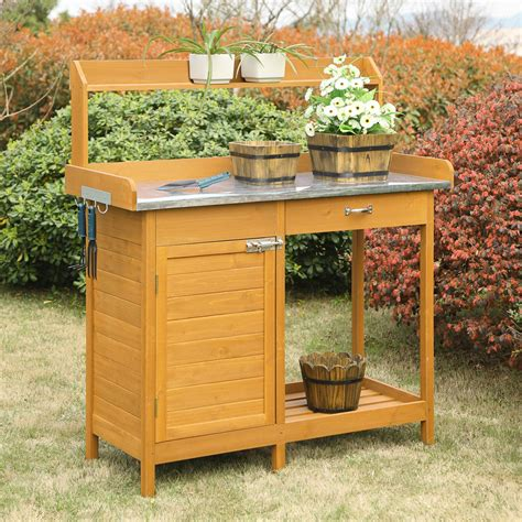 potting bench design amusing potting bench design with sink ideas exterior