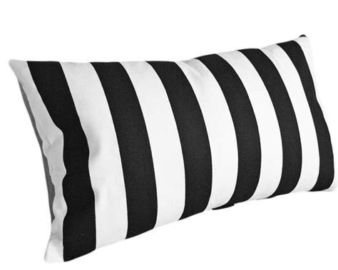 black white striped pillow cover modern decorative pillows