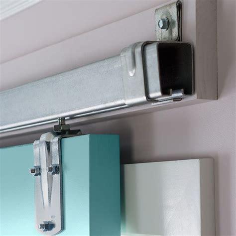 sliding screen door hardware sliding door hardware on a ledger board instead of