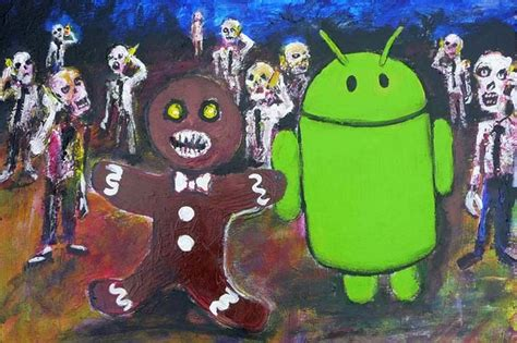 gingerbread android 10 easter eggs found in android