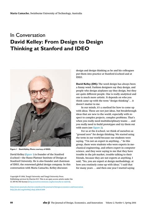 design thinking david kelley david kelley from design to design pdf download