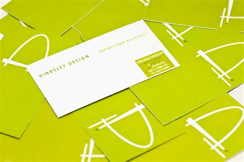 Landscape Architect Business Card Pin Print Design Landscape Architect Business Card