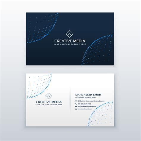 card design template jpg technology style business card design template descargue