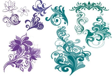 nice pattern for photoshop pretty designs free photoshop brushes at brusheezy