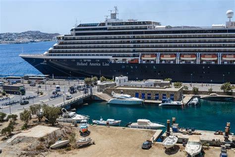 mykonos port greece cruise tourism needs a strategic plan gtp headlines