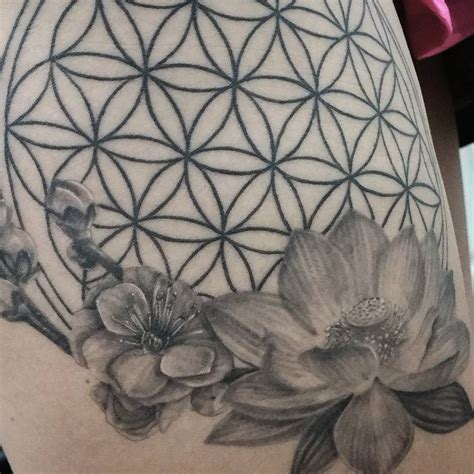 the flower of life tattoo 105 cool flower of ideas the geometric