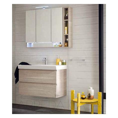 arredo bagno legno mobile arredo bagno specchio contenitore nobilitato legno