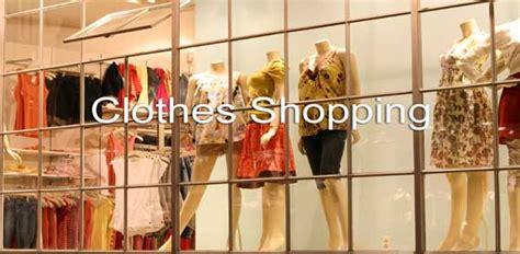 esl clothes shopping