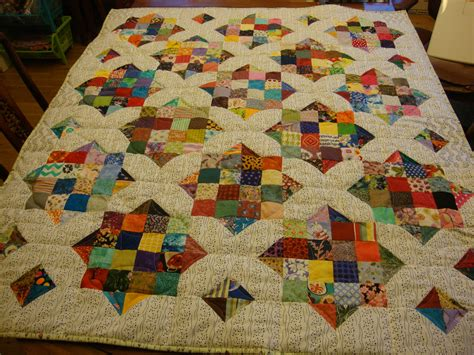 another scrappy quilt for charity