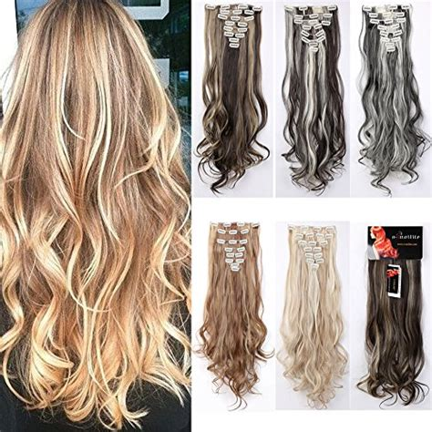 does vomor extensions work with curly hair 8pcs 24 26 inches highlight straight wavy curly full head